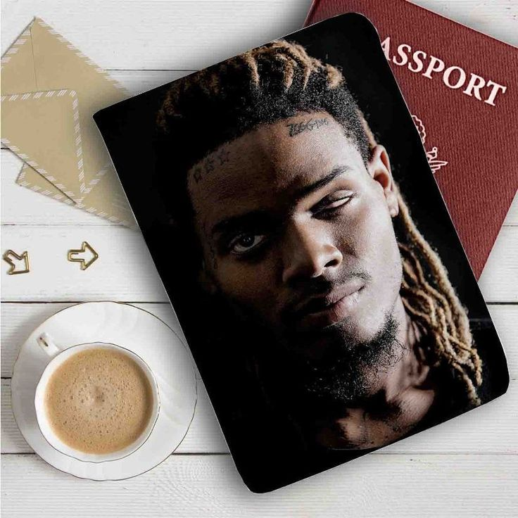Fetty Wap Leather Passport Wallet Case Cover