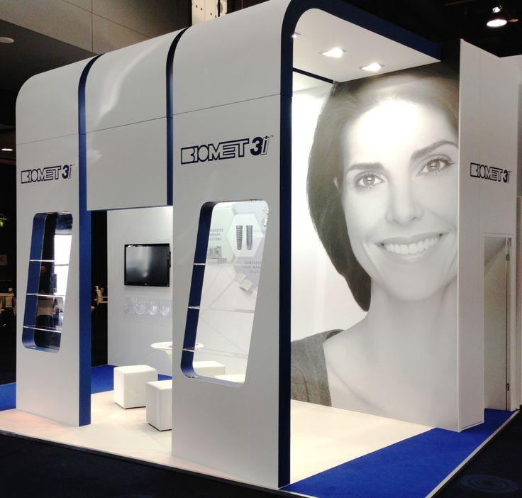 Custom build exhibition stand for Biomet 3i, 2013 www.mustardsolutions.co.uk