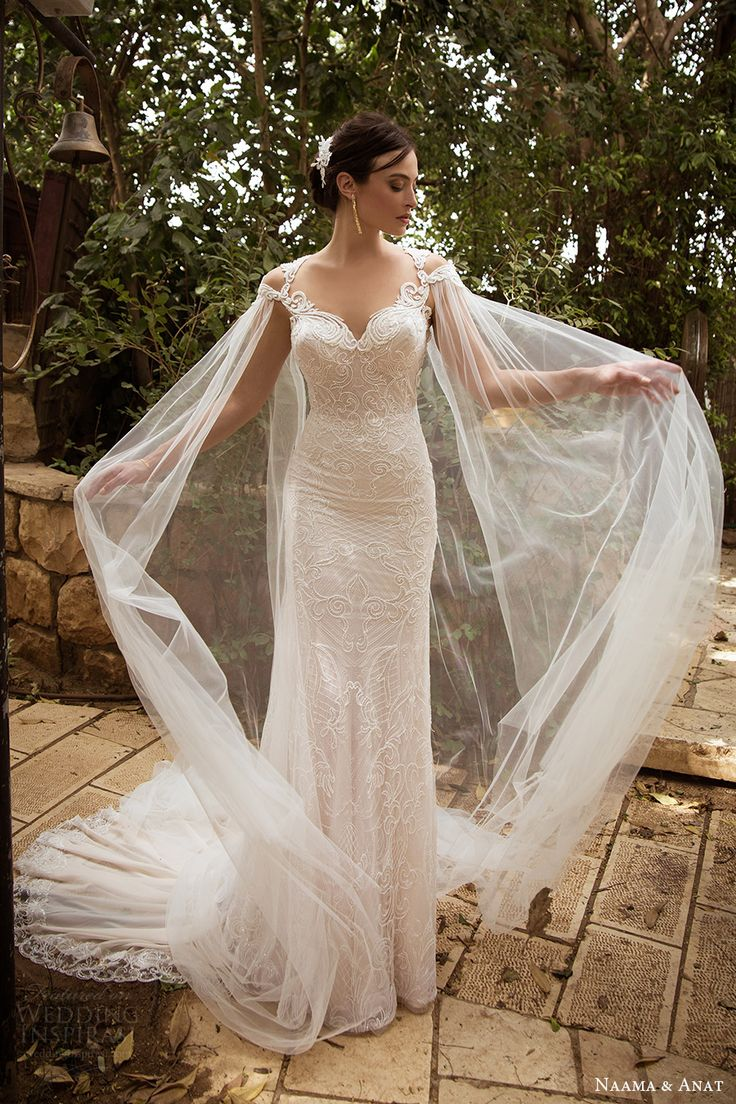 38087 best fairytales images on pinterest wedding for Wedding dress with cape train