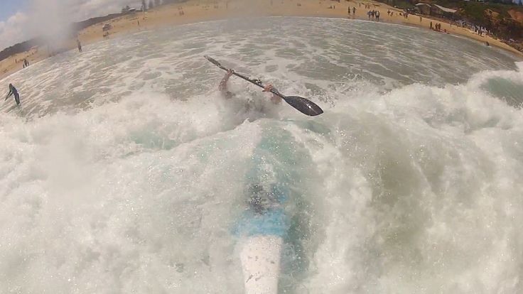 The Switchblade sectional sea  kayak can handle the rough stuff.