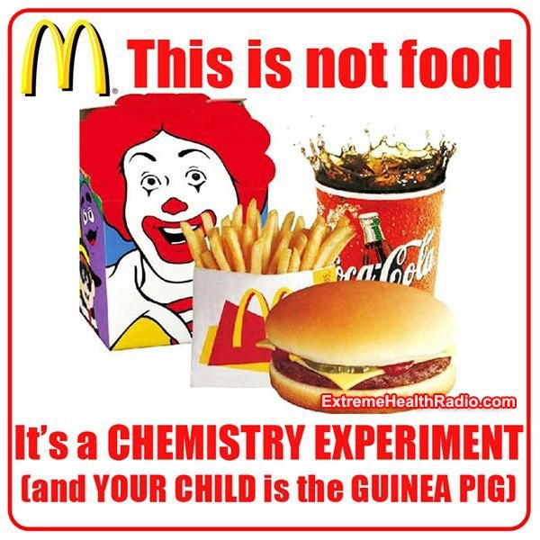 """You get what you pay for. At that price you cannot get food. Scary stuff people feed their kids! """"Oh the kids will only eat McDonald's"""". JUST SAY NO! Feed them some fresh spinach and tell them THAT'S your dinner! Eventually they will eat! It's for their own good! YOU""""RE the parent, right? No wonder the gov't wants to take over kids with parents like this!"""