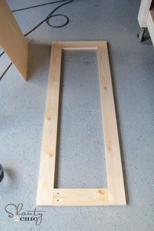 DIY Rustic Full Length Mirrors!