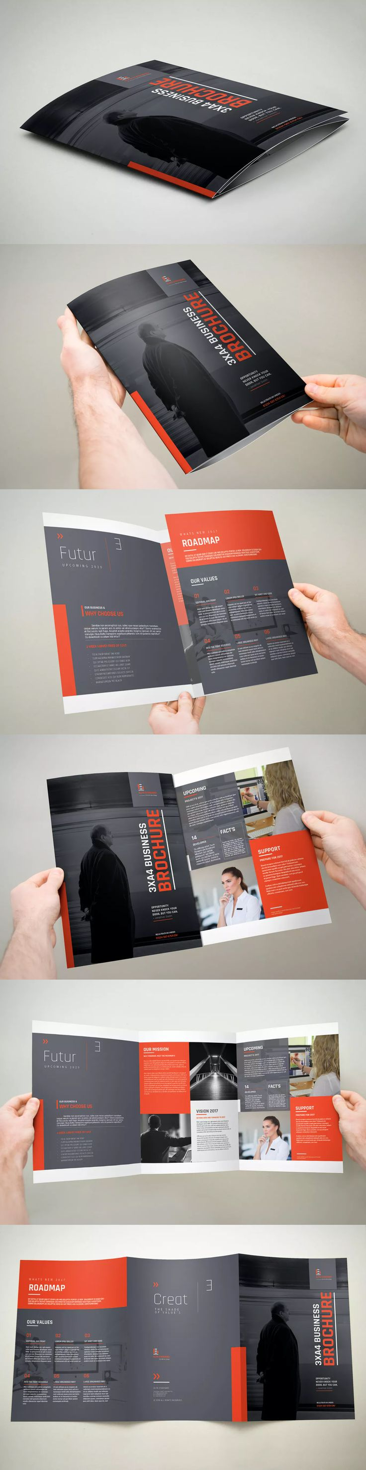 416 besten Brochure Templates Bilder auf Pinterest | Broschüren