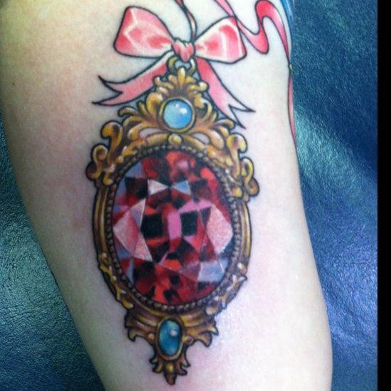 ☾✰princess✰☽ tattoo...jewels on Jewels on JEWELS!