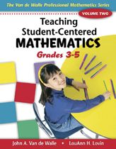 Here you can download blackline masters for each of the 3 books in the Van de Walle Professional Mathematics Series (Teaching Student-Centered Mathematics, books for grades K-2, 3-5, and 5-8).