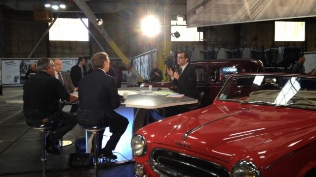 """""""Les 100 ans de Peugeot"""" à Sochaux - le 15 septembre 2012 - France3 Franche-Comté"""
