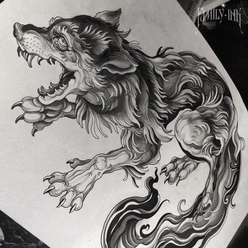Best 25+ Wolf tattoo design ideas on Pinterest | Wolf ... - photo#42