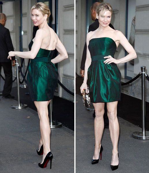 Renee Zellweger stunning in emerald in Italy | Express Yourself | Express.co.uk - Home of the Daily and Sunday Express