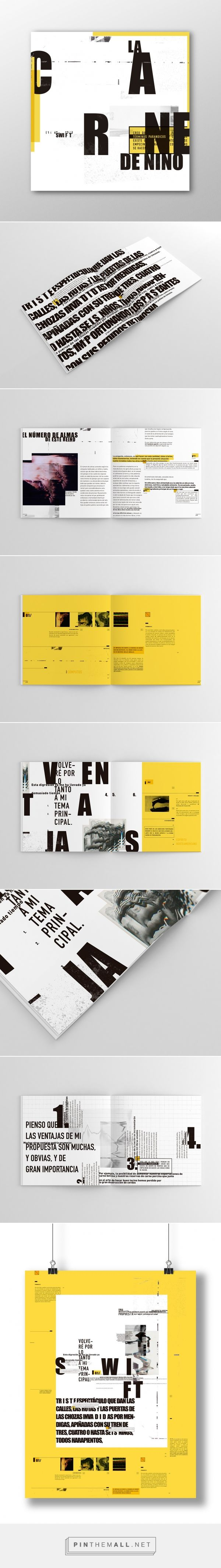Editorial - Swift / Bertorello on Behance... - a grouped images picture - Pin Them All