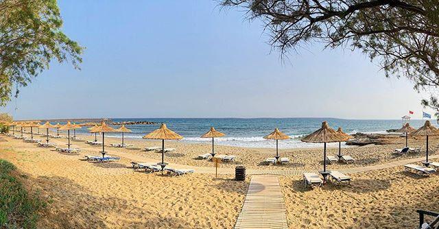 Der Strand Des Malia Park In Malia Auf Kreta Maliapark Malia