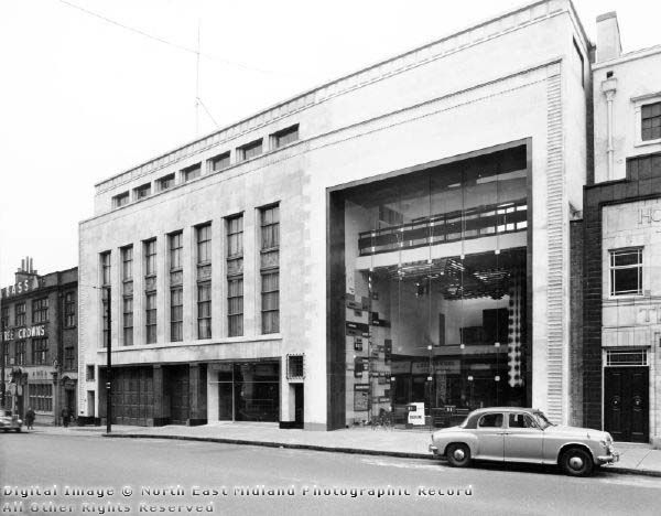 Pearson Brothers, Upper Parliament Street, Nottingham c 1970 Picture the Past