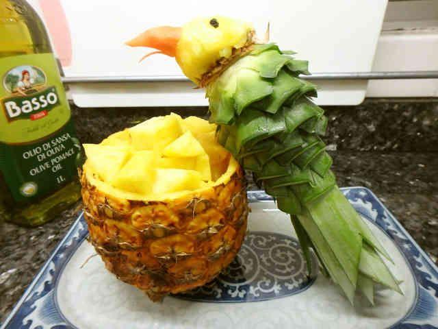 切り方工夫万歳!本場南国のパイナップル。の画像