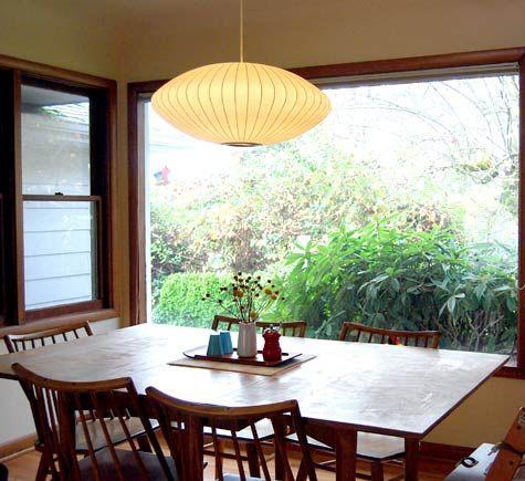 George Nelson Bubble Lamp Photo Of Lynn Russells Home Satsuma Press