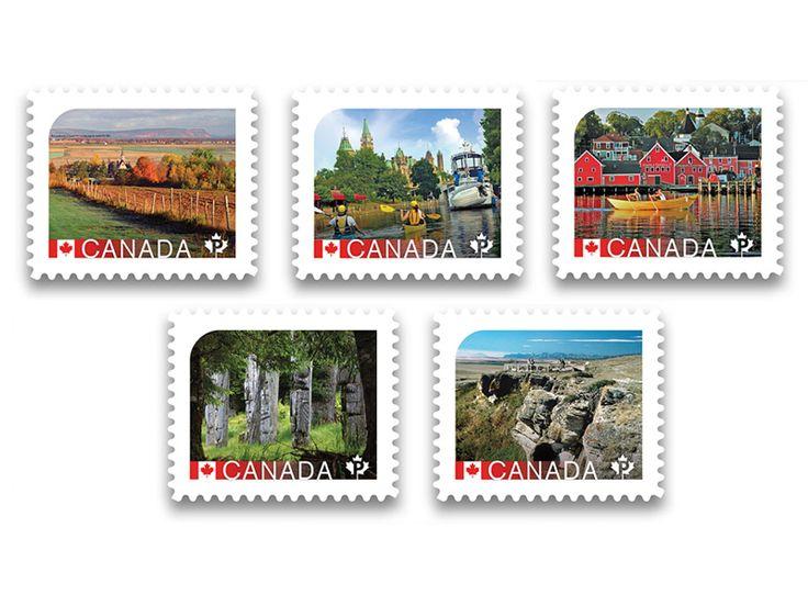 COLLECTORZPEDIA UNESCO World Heritage Sites - Permanent Domestic Stamps