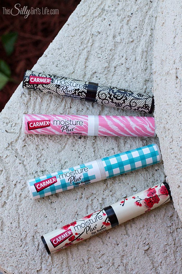 Stylish Carmex Lip Balms, in stores now! #ad