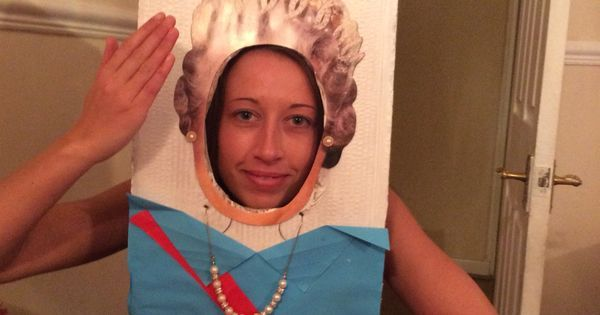 Made this in an hour , head and shoulders only to celebrate queens 90'th birthday | Queens 90th birthday fun | Pinterest | Queen Birthday, Queen and Birthdays