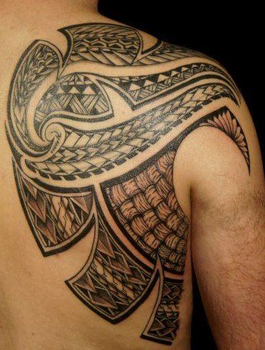 Tatouages Dos Dorsal Samoa 2012