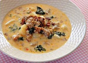 Olive Garden's Zuppa Toscana and 16 other Olive Garden recipes
