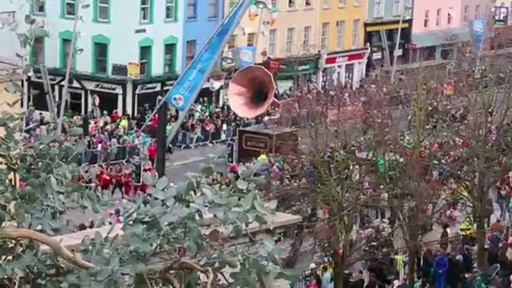 Cork Community Artlink's Life Beats - Patrick's Day Parade 2014