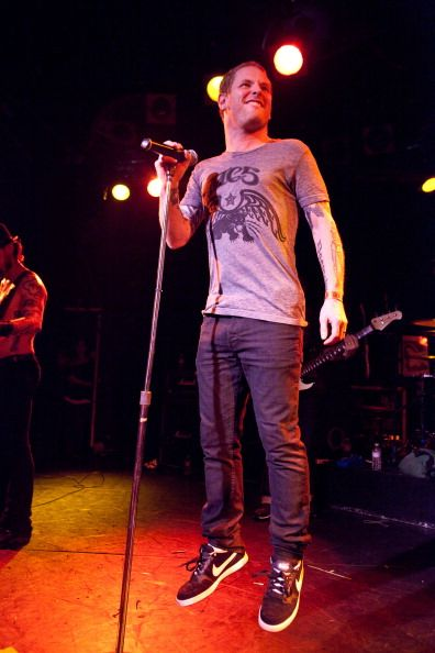 Corey Taylor performs with Camp Freddy at The Roxy Theatre on December 11 2010 in West Hollywood California