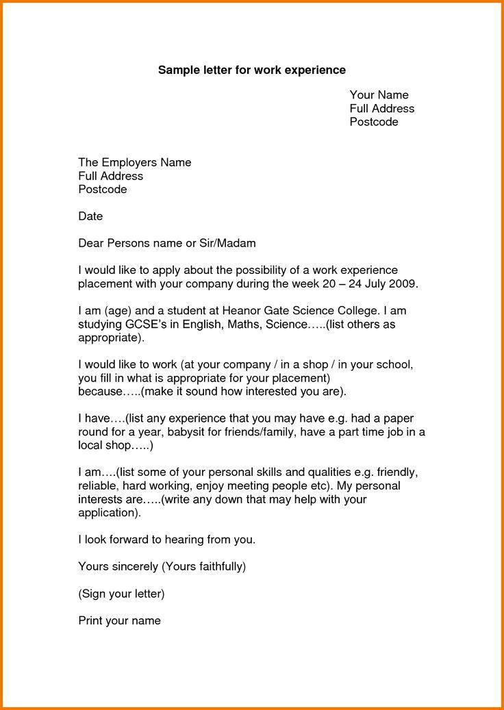 work experience resume format pdf