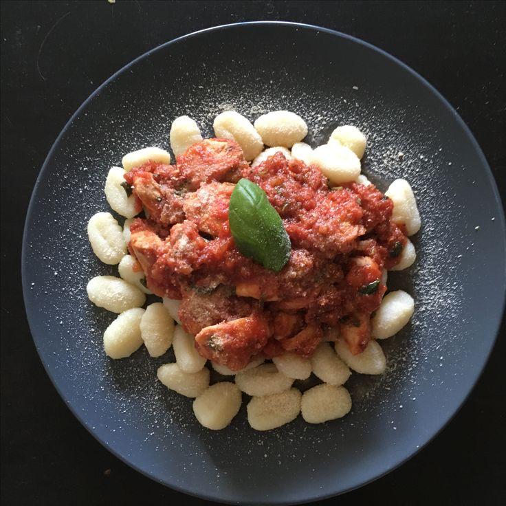 Gnocchi med bolognesesaus