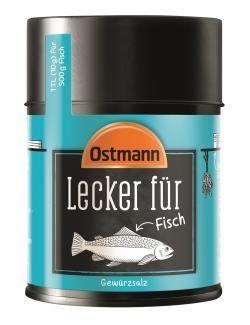 myTime Angebote Ostmann Lecker für Fisch: Category: Essig, Öl & Gewürze > Salz & Gewürze > Salz > Kräuter- & Gewürz Item…%#lebensmittel%