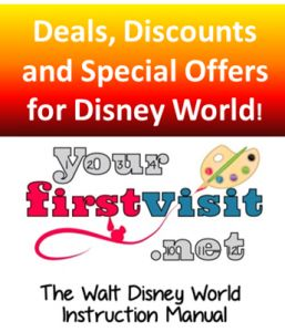 Deals, Discounts and Special Offers for Walt Disney World from yourfirstvisit.net - must be booked by Nov. 3