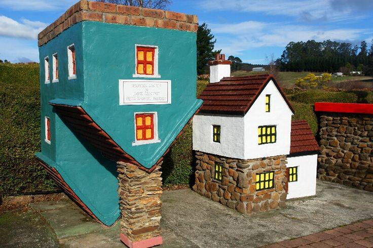 Visit the The Village of Lower Crackpot at Tasmazia, near Lake Barrington