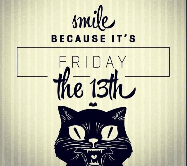 Happy Friday the 13th :D everyone start your morning off on the positive side and turn that bad luck to a good luck charm! - Dependable Rooter and Plumbing. #DependableRooter #SanJosePlumbing #FridayThe13th #superstious #badluck #goodluck #itsagreatday #smile #dontsteponthatcrack
