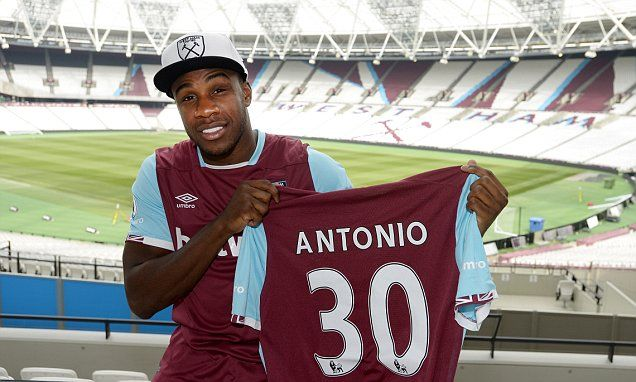 Michail Antonio signs new £70,000-a-week contract