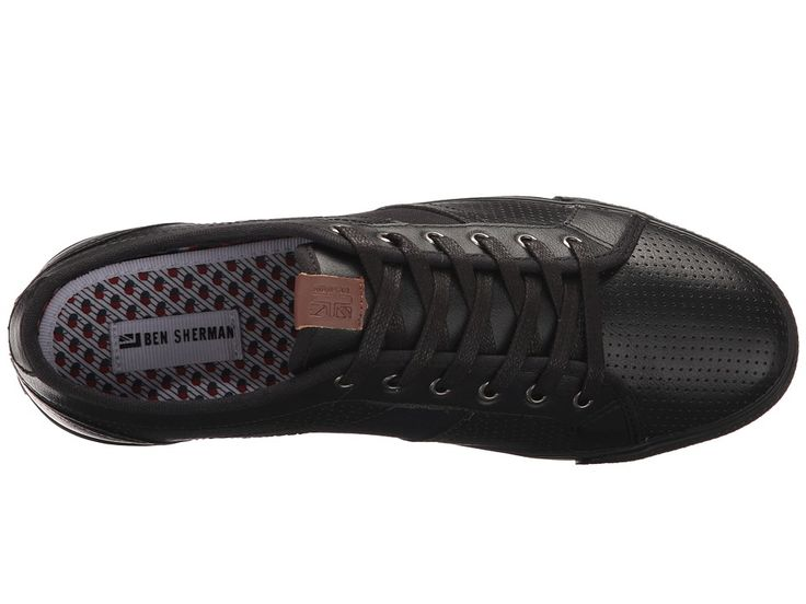 Ben Sherman Madison Perf Men's Shoes Black