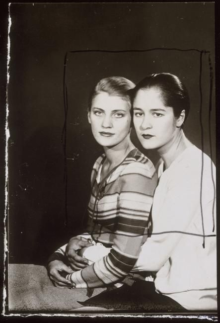 Lee Miller and Tanja Ramm, 1929 by Man Ray