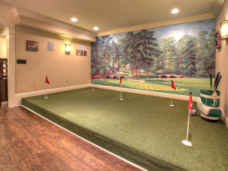 56 best golf simulator room design ideas images on for Golf simulator room dimensions