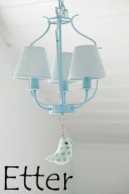 """Stines Hjem - Livet på landet: """"Pimping"""" av IKEA lampe!"""