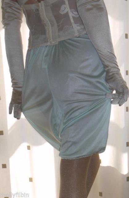 Vintage Walker Reid silky acetate directoire knicker long leg pantie~bloomers 22