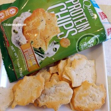 Quest Protein Chips Sour Cream & Onion クエスト プロテインチップス|  #Quest #ProteinChips #クエスト #プロテインチップス #protein