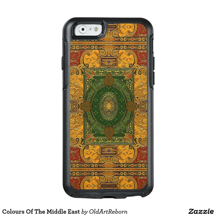 Colours Of The Middle East OtterBox iPhone 6/6s Case