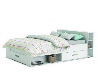 Maxbedden Twijfelaar bed Pocket (140 x 190) - Wit