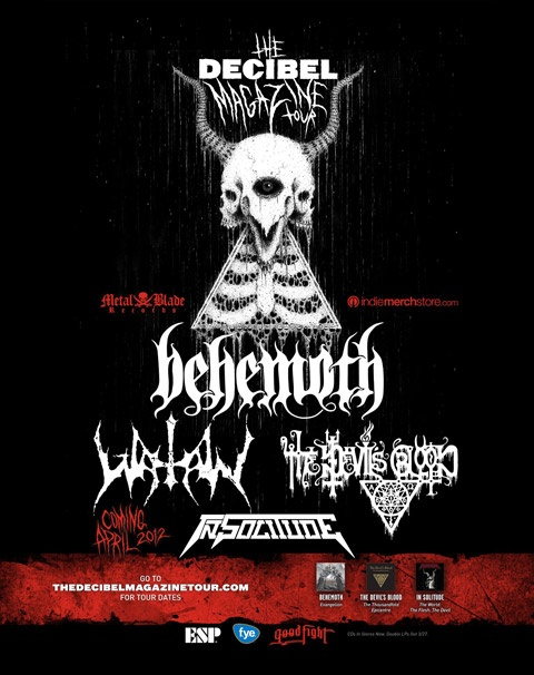 This will be the first gig of my 2012 US trip. Mainly going to see Evoken who aren't listed.