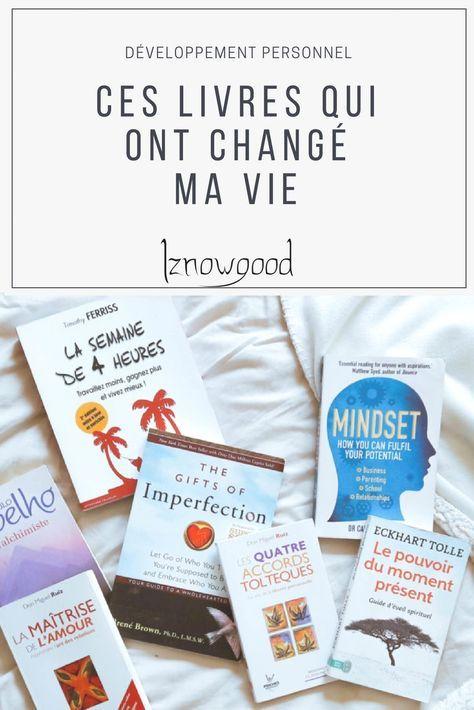 Ces livres qui ont changé ma vie   Livres de développement personnel   Iznowgood
