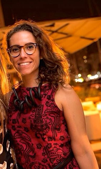 Alicer wearing Carla Matos'New Collection necklace  www.scicche.it