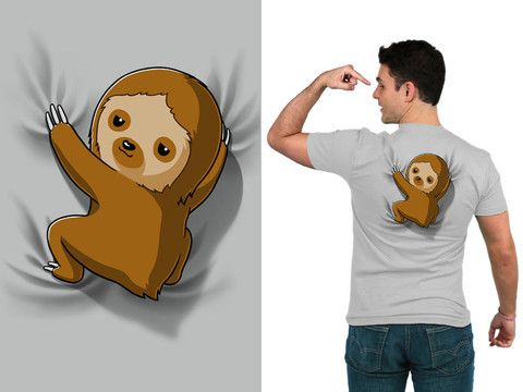 Slowly going where no sloth has gone before.