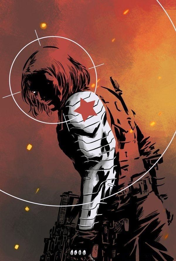 """Winter Soilder (James Buchanan """"Bucky"""" Barnes) is a fictional character, a…"""