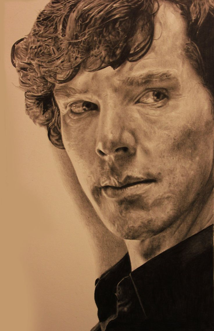 Sherlock Drawing by ~Lewis3222 on deviantART