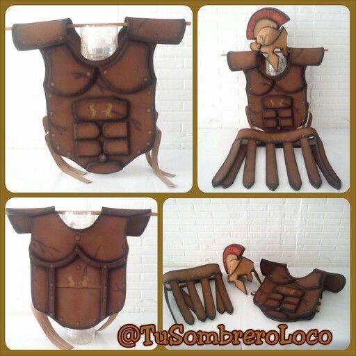 Soldado romano #Disfraz #casco #armadura #cinturón #semanasanta #actoescolar…