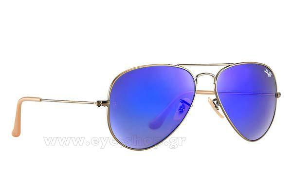 Γυαλια Ηλιου  RayBan 3025 Aviator 16768 Blue Mirror Τιμή: 128,00 €