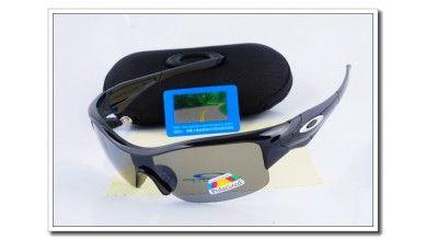 Straight Jacket  Polarized Sunglasses Polishing Black Frame Slate grey Iridium Lens Sale
