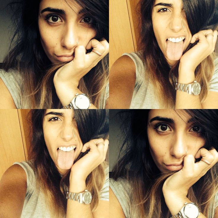 Selfie, bored at home after the day at university :)