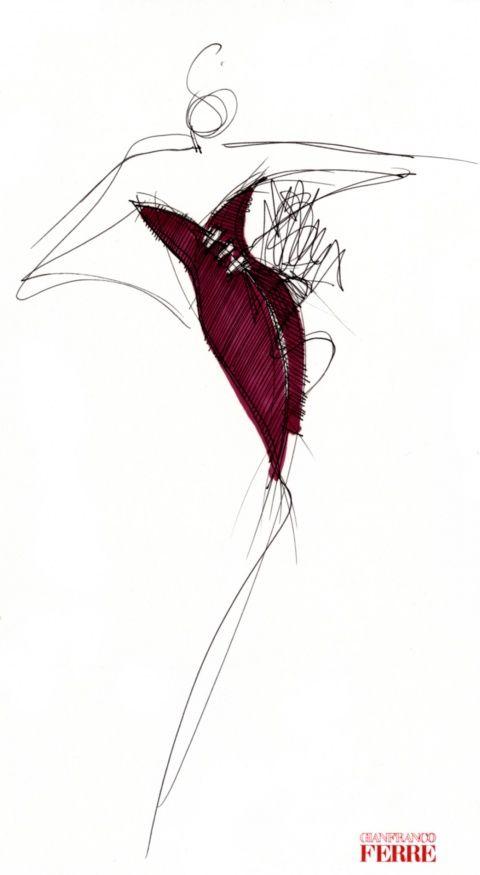 Fondazione Gianfranco Ferré / Collections / Woman / Prêt-à-Porter / 1992 / Fall…